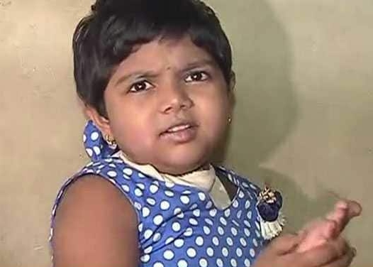4-year-old girl gets skull implant in Pune