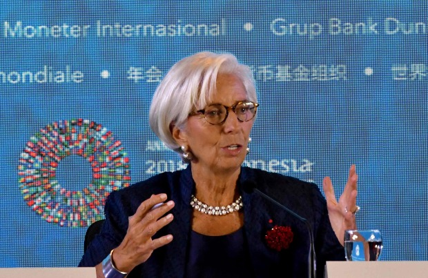 IMF chief defends Powell after Trump slams 'crazy' Fed