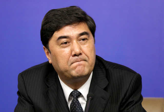 China human resources ministry says National Energy Administration director removed from post