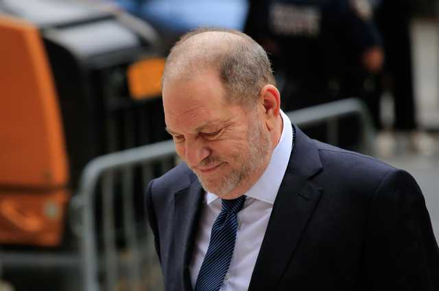 NY judge dismisses one sex assault charge against Weinstein