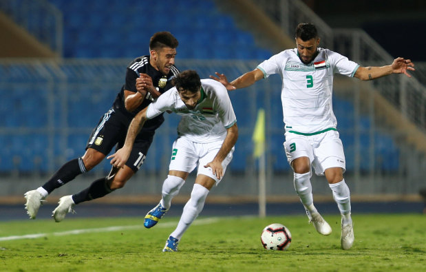 Argentina too strong for Iraq in Saudi friendly