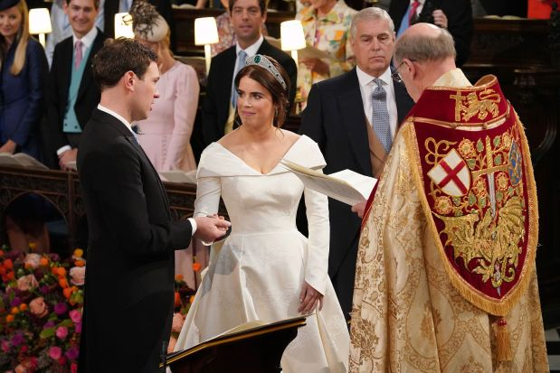 IN PHOTOS: Princess Eugenie marries in grand UK royal wedding