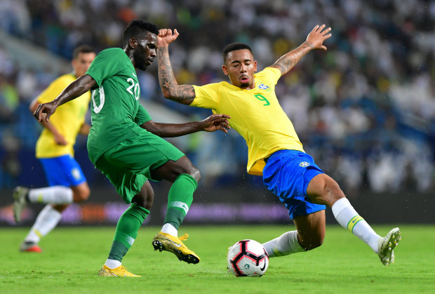 PICTURES: Brazil fail to sparkle in 2-0 win over Saudi Arabia