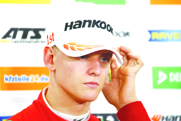 Mick Schumacher lifts F3 title
