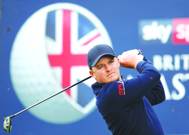 British Masters: Pepperell in total command