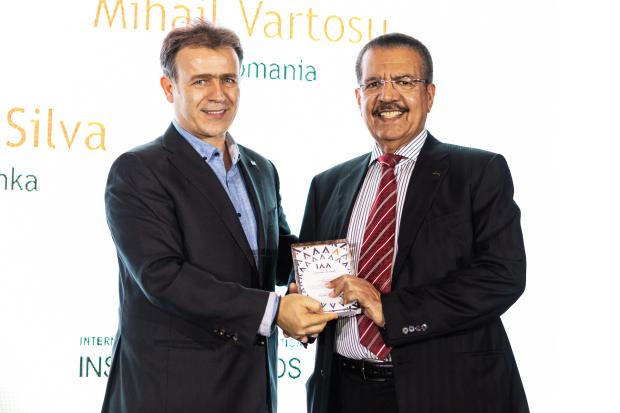 Top honour for Khamis Al Muqla