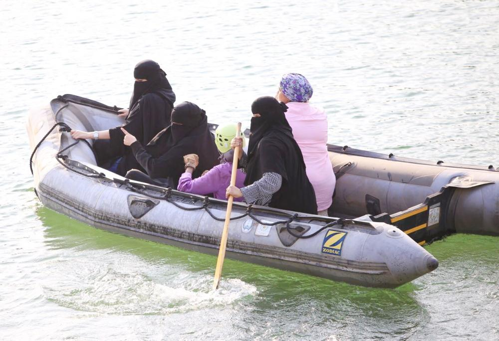 50 Saudi women take part in maritime and land search and rescue drill