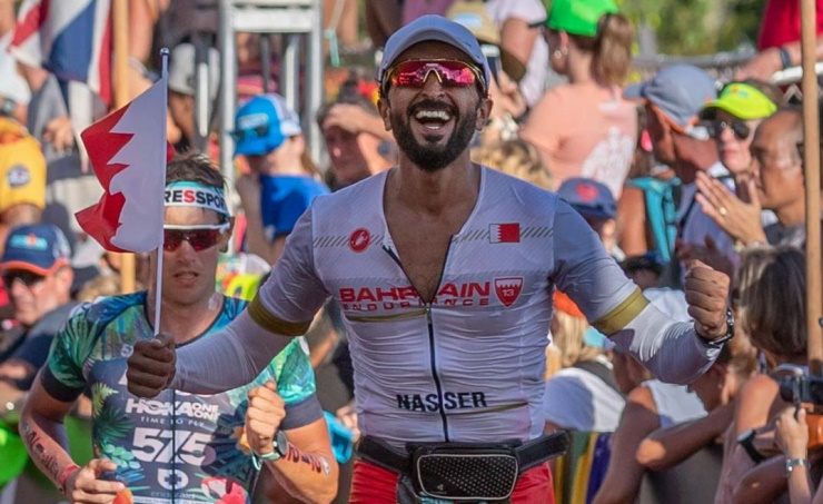 IRONMAN World Championship: Shaikh Nasser is a world champion in his category