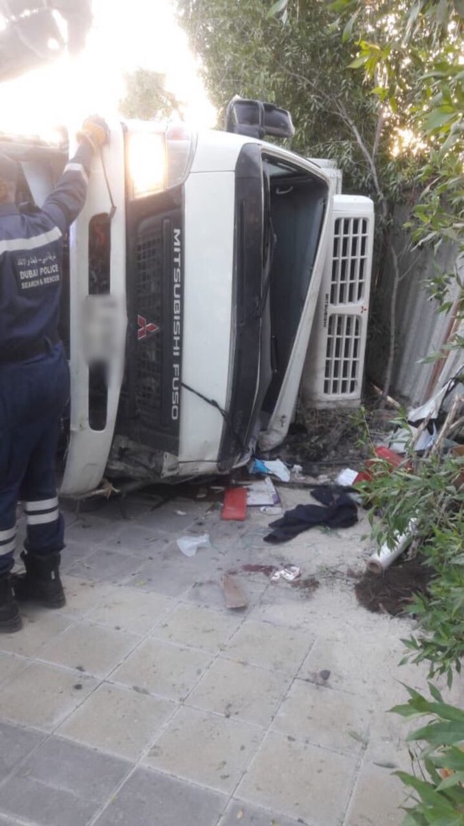 Truck driver killed in Palm Jumeirah