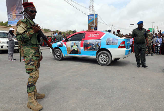 Death toll rises to 20 after suicide bombings in southern Somalia