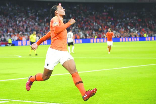 UEFA Nations League: Dutch hit three past Germany