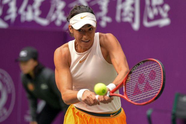 Tianjin Open: Garcia rallies to shock Pliskova