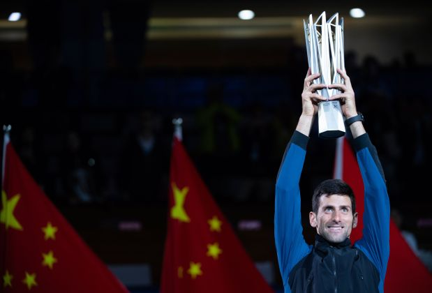 CLOSE TO THE TOP! Djokovic captures Shanghai title to narrow gap with Nadal
