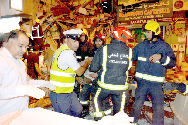 Six survivors of Salmaniya building collapse 'out of danger'