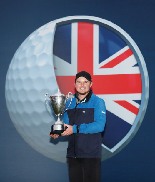 Pepperell survives scare to win British Masters