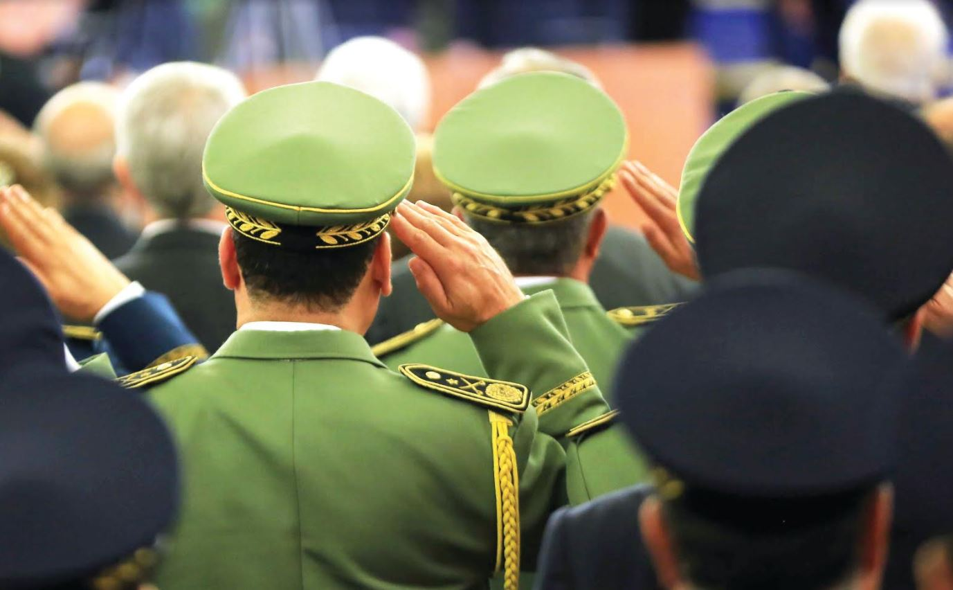 Five Algerian major-generals jailed over corruption charges