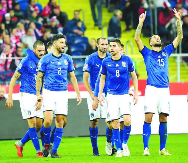 Nations League: Despair turns to Italian optimism