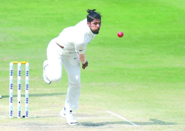 Umesh gives India 'good headache'