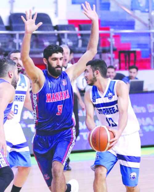 Zain Bahrain Basketball League: Manama trounce Samaheej; Muharraq down Ettihad