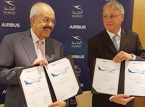 Kuwait Airways to acquire 8 Airbus A330-800neo jets