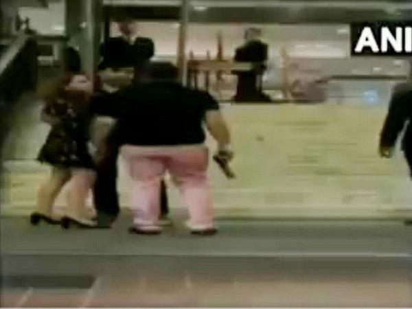 VIDEO: Indian politician's son filmed brandishing gun in 5-star hotel!