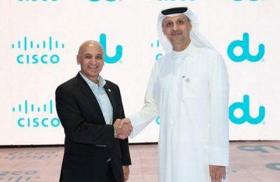 Du, Cisco launch smart networking for business