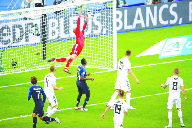 Uefa Nations League: France edge past Germany