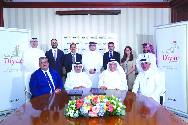 BBK signs Al Bareh financing accord