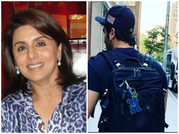 Neetu Kapoor shares picture of her 'strength'