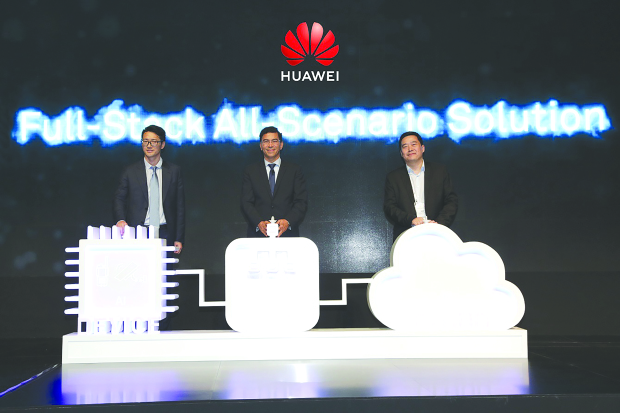 Huawei launches world's first artificial intelligence solutions