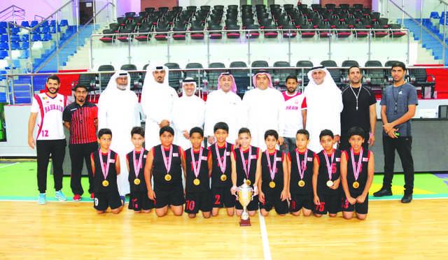 Ibn Seena Primary School lift basketball title