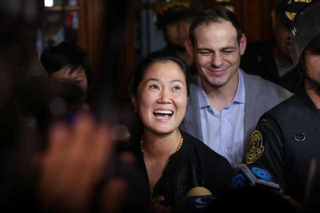 Peru court orders Keiko Fujimori release