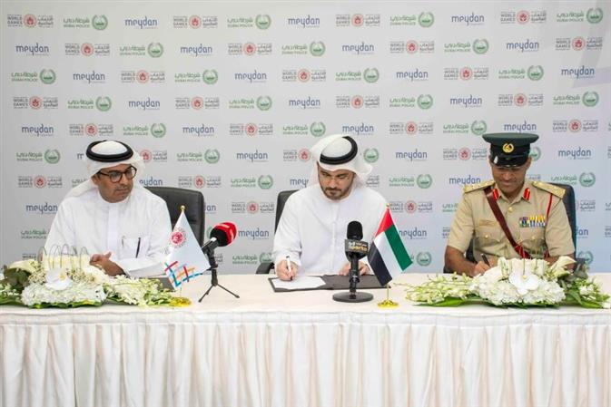 Dubai Police and Meydan Group sign MoU to provide horses for equestrian competition