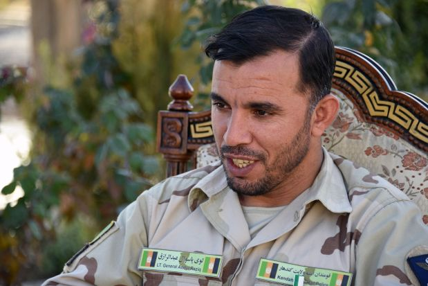 Top Afghan police chief killed in shooting, US general unhurt