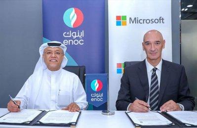 Enoc, Microsoft plan AI-powered service station