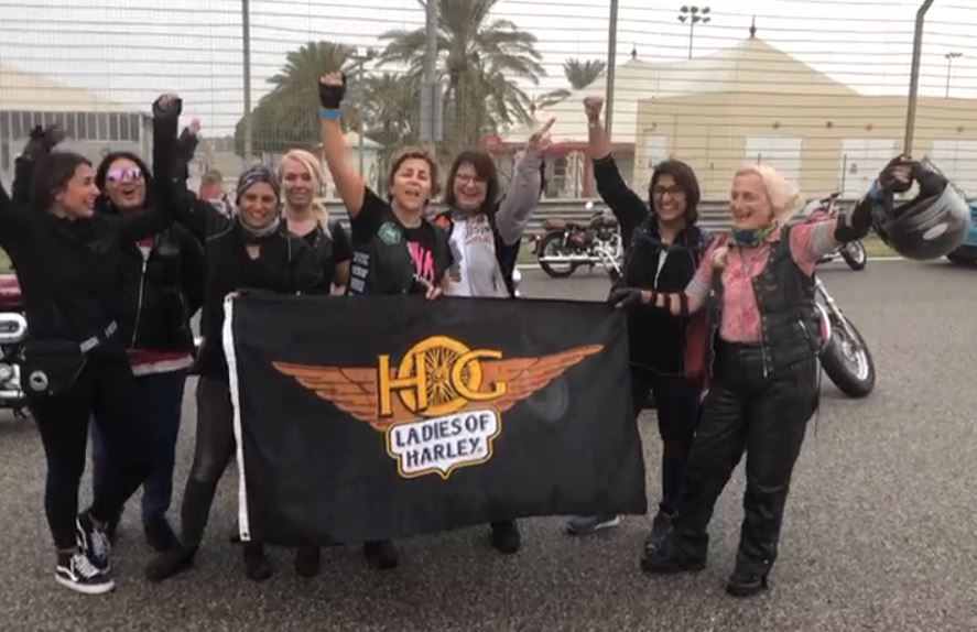 VIDEO: Female drivers gather to celebrate women's empowerment