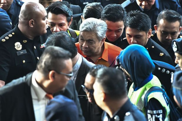 Malaysian opposition leader charged in $26 mn graft case