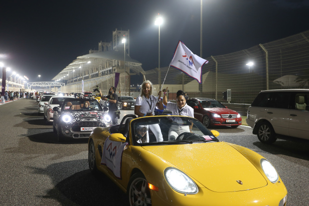 VIDEO: Women empowerment celebrated with all-female car parade