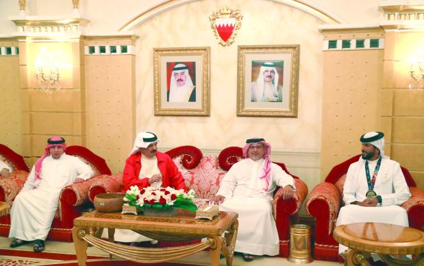 Shaikh Nasser's sporting glory hailed by King