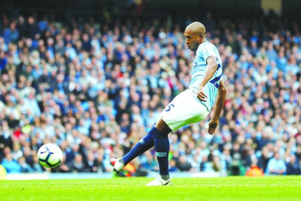 Premier League: City score five past Burnley
