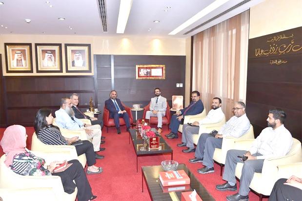 Kuwaiti delegation visits GPIC