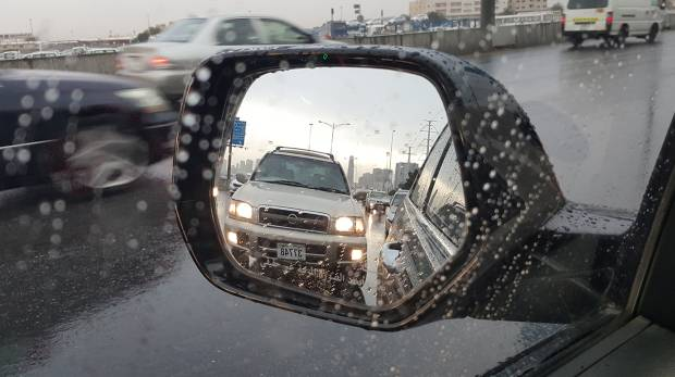 Dh800 fine for taking photos of rain while driving