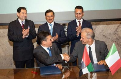 ECI, Italian firm sign MoU to increase business opportunities