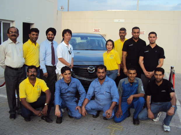 Service drive for Mazda owners