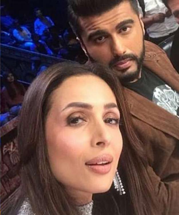 Arjun Kapoor & Malaika Arora walk hand in hand on India's Got Talent Season 8 Premiere