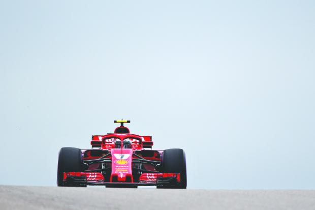 Hamilton party on hold; Kimi Raikkonen wins US Grand Prix title