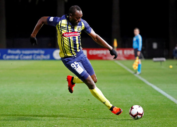 Mariners coach unaware of any contract offer to sprinter Usain Bolt