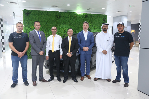 First Chevrolet electric vehicle on Abu Dhabi roads