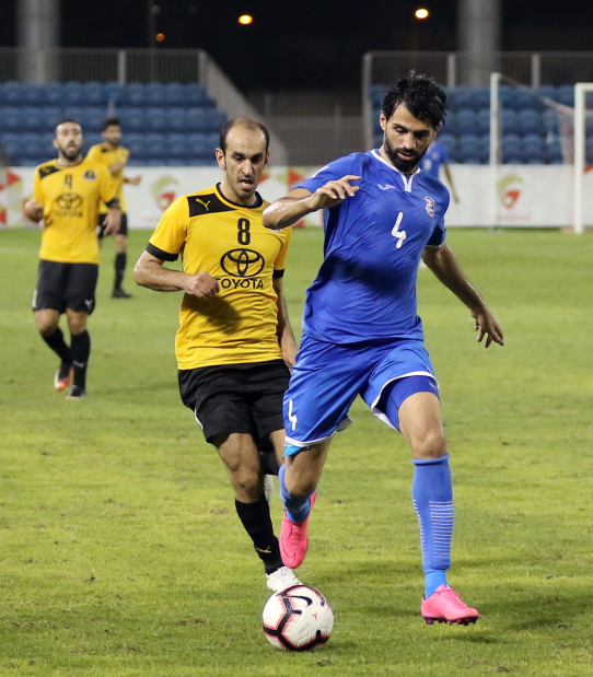 Najma down Ettihad to raise title hopes