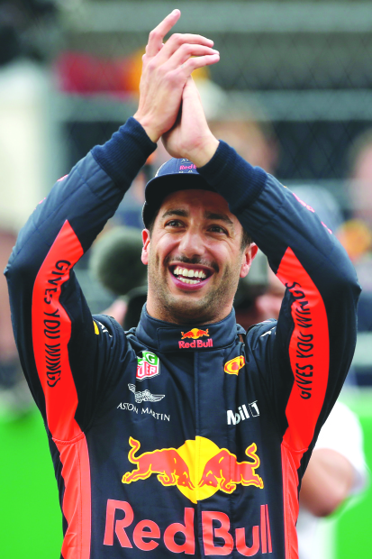 Ricciardo pips Verstappen for pole